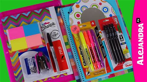 back to school supplies haul 201314 shopping at dollar