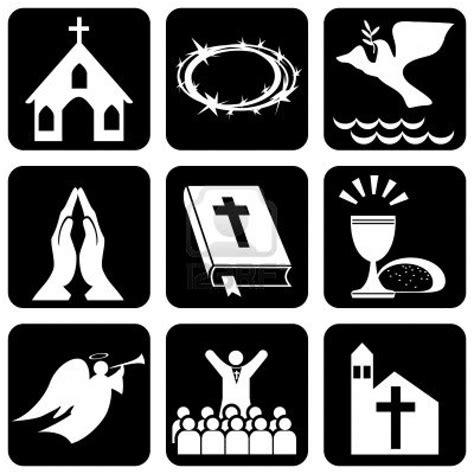 imagenes simbolos cristianos cultura teol 211 gica a mano las diferentes instituciones