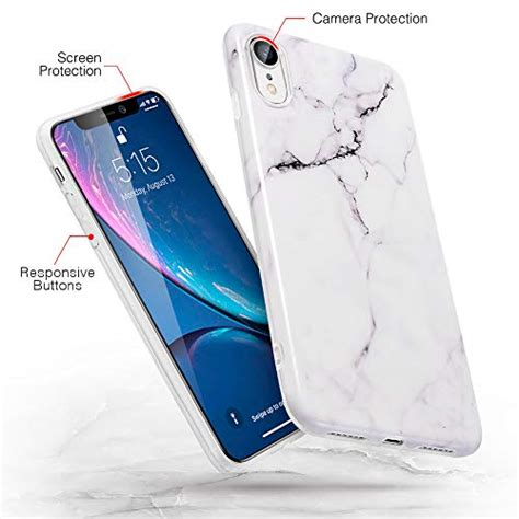 iphone xr marble slim soft case