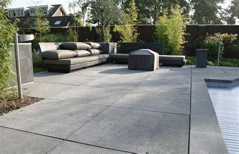 Meteran Wood 5m betontegels terrras mogelijkheden soorten prijs