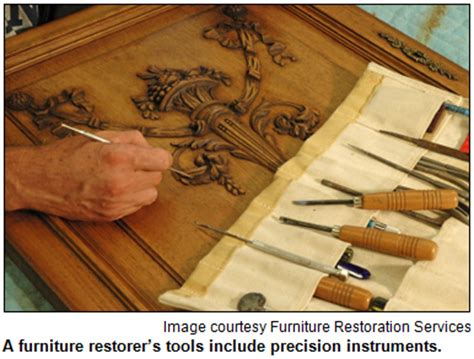 Tools For Furniture Restoration by Furniture Restoration Tools Are Shown With A Wood