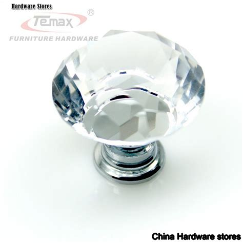 Bedroom Furniture Glass Handles Clear Zinc Glass Bedroom Furniture Kitchen Drawer