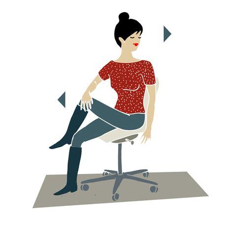 esercizi in ufficio esercizi postura alla scrivania