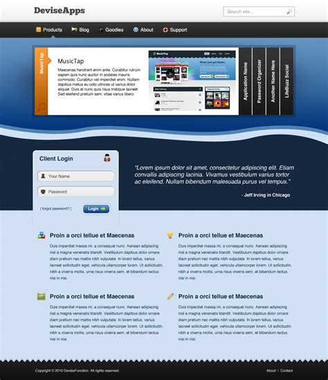 iphone web layout 10 easy web design tutorials for your business 2designers