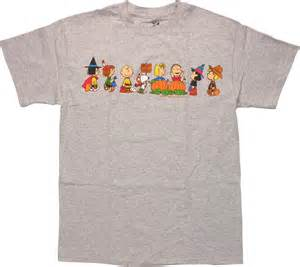 peanuts t shirt peanuts the great pumpkin brown t shirt