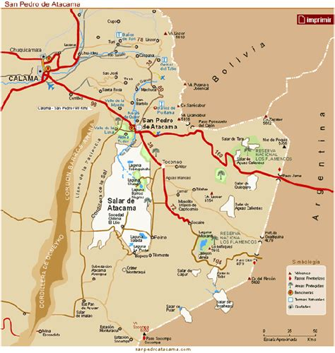 atacama desert map gallery atacama desert map location