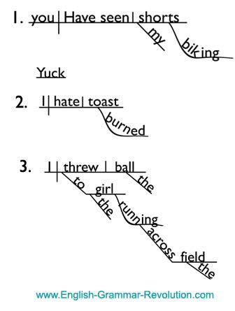 diagramming simple sentences diagramming verbals
