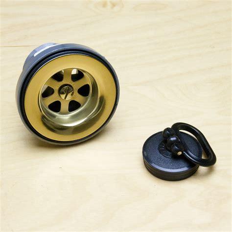 Franke Kitchen Sink Plugs Franke 60mm Gold And Black Kitchen Sink Waste Ebay