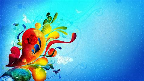 abstract the art of design abstract flowery art design wide desktop background new