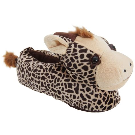 fluffy animal slippers womens fluffy 3d animal slippers choice of 6