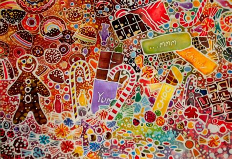wallpaper batik art batik sweeties by dawndelver on deviantart