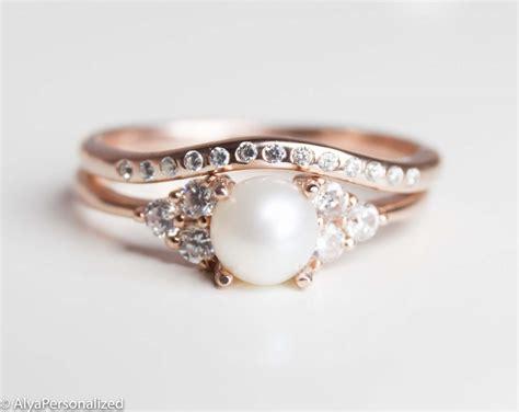 Wedding Ring Set Design by Gold Wedding Ring Set Engagement Ring Set Vintage