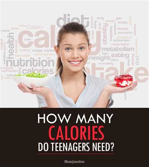 how many calories does a need how many calories do teenagers need