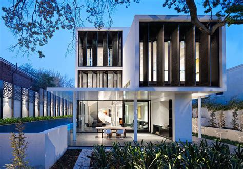 verdant avenue home in melbourne australia by robert