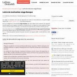 Lettre De Motivation Emploi Banque Finance Recherche D Emplois Et Stages Pearltrees