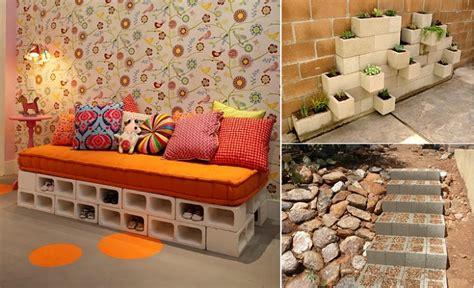 cement home decor ideas 10 creative ideas to decorate with concrete blocks home