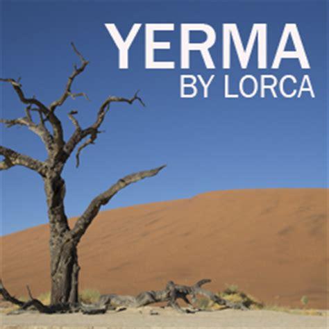 yerma new translation by 1542314380 federico garcia lorca s yerma brendan j mulhern