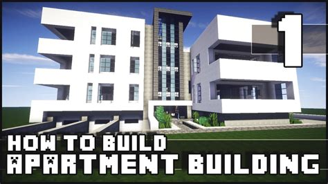 how to build a new house minecraft how to build modern apartment building