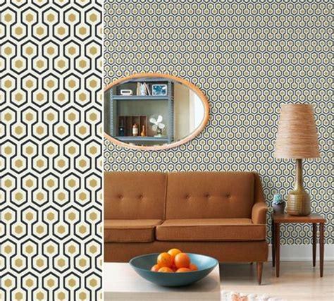 Beau Tapisserie Salle De Bain #7: papier-peint-design-pour-le-salon-revetement-mural-en-papier-peint-castorama.jpg