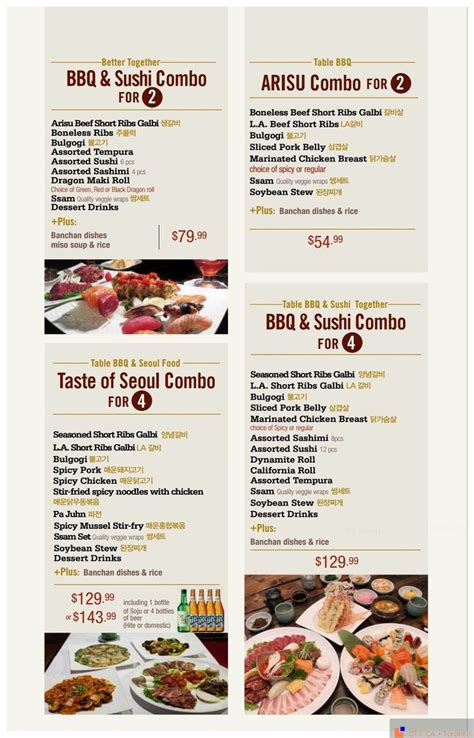 menu design korean korean food menu card food