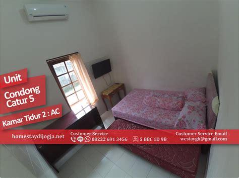 Ac Kamar Murah homestay murah 2 kamar ac di condong catur kapasitas 8