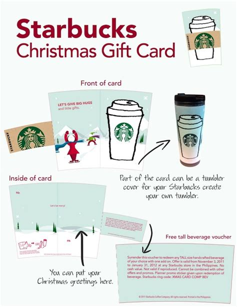 Design Your Own Starbucks Gift Card - starbucks christmas gift card heart 2 heart online com