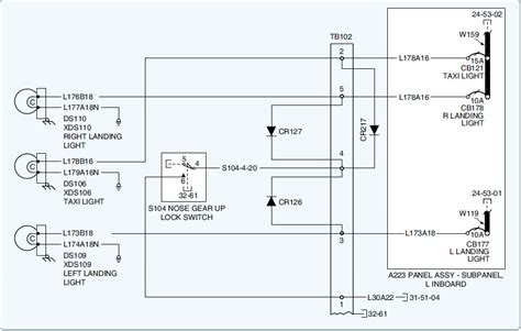 wiring diagram landing light choice image wiring diagram