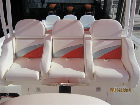aftermarket boat cushions deep impact custom 3 man bolster gds canvas and upholstery