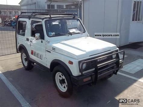 how petrol cars work 1985 suzuki sj user handbook 1985 suzuki samurai sj 500 car photo and specs