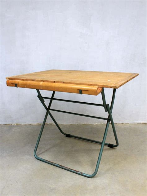 Drafting Table Menu Tekentafel Industrieel Vintage Bestwelhip