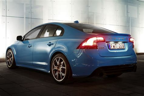 Performance Volvo New Volvo S60 Polestar Performance Concept Packs 508