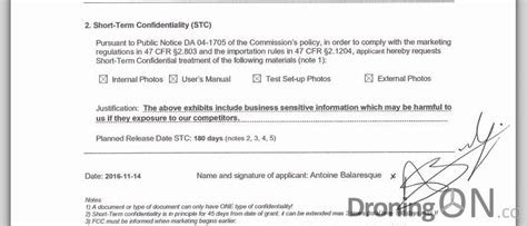 section 19 application lily drone fcc application approved but when will it ship