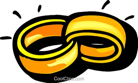 Eheringe Cool by Trauringe Vektor Clipart Bild Vc102222 Coolclips