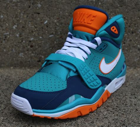 miami dolphins sneakers nike air trainer sc ii high qs nfl quot miami dolphins