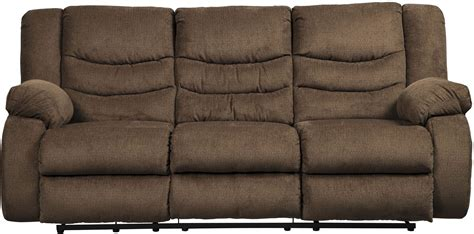 tulen reclining sofa reviews tulen chocolate reclining sofa 9860588 ashley