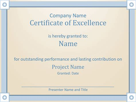 Home Plan Design Software certificate of employee excellence template for powerpoint