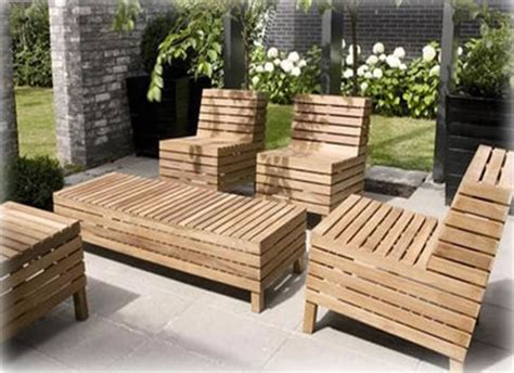 wooden outdoor furniture architecture and interior design