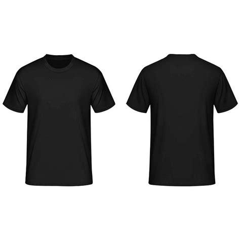 Adidas Black Tshirt Kaos plain shirt black custom shirt