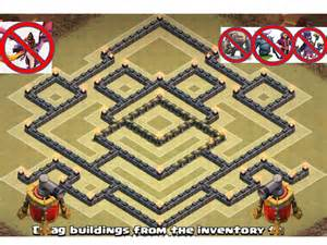 Town hall 9 th 9 war base anti 2 stars epic best new design quot speed