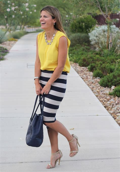 skirts for women over 55 stripe skirt outfits ideas for working women 55 nona gaya
