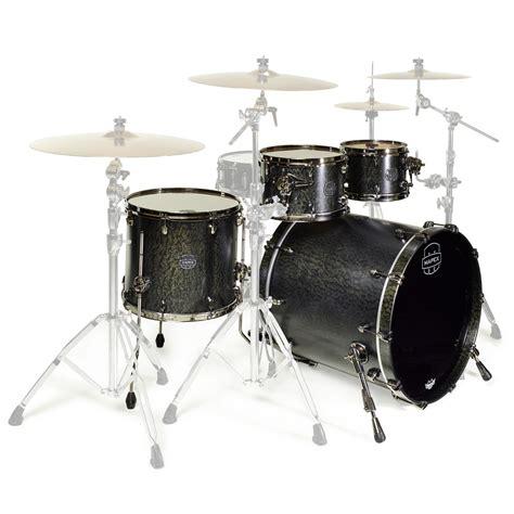 mapex saturn series drums mapex saturn v 22 sub wave flat black maple at