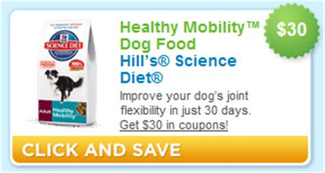 hills dog food printable coupons 30 in hill s science diet coupons from coupons com