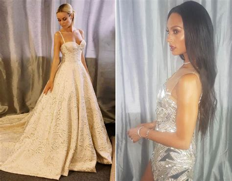 amanda holden and alesha dixon amanda holden shows more flesh in most revealing dress