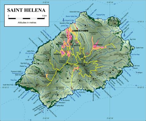 st helena on world map helena