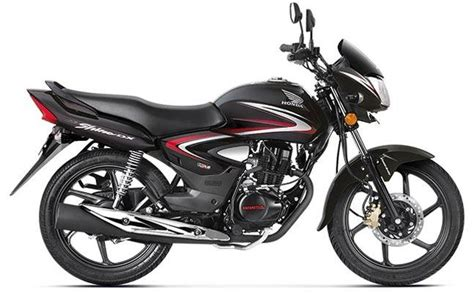 two wheeler honda shine honda cb shine with bs iv engine launched in india at rs