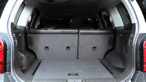 how to remove back to back boat seats 2012 nissan xterra folding rear seats youtube