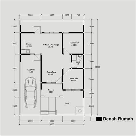 gambar desain interior dan denah rumah minimalis type 60 the knownledge