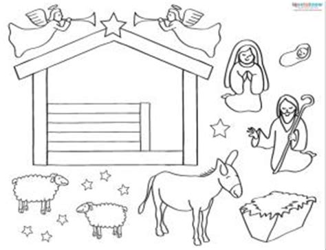 nativity card templates printable nativity lovetoknow