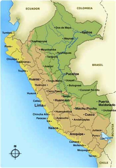 peru map maps of peru