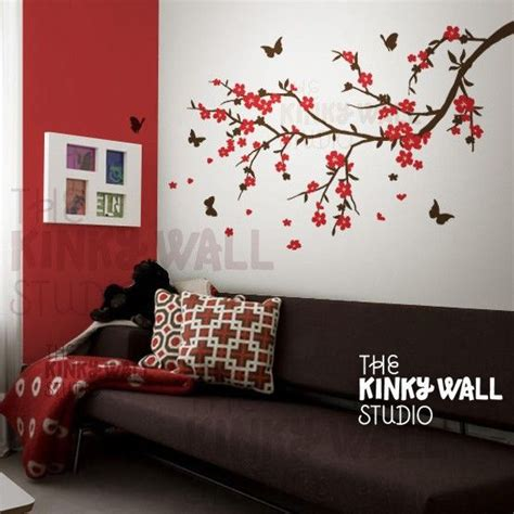 wall decal wall sticker tree decal cherry blossom by